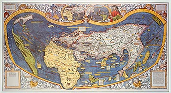 Universalis Cosmographia Secundum Ptholomei Traditionem... [1507]