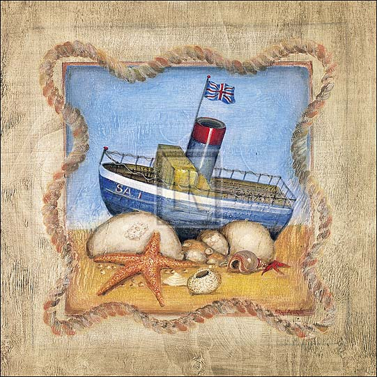 Картинки о море декупаж