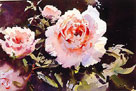 Pink Roses II by Trevor Waugh