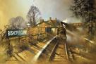 Bishopsbourne Station by Barrie A F Clark