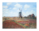 Champs de Tulipes by Claude Monet