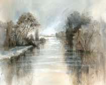 Soft and Silent Riverbank