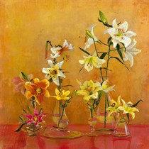 Lilies In Vases I