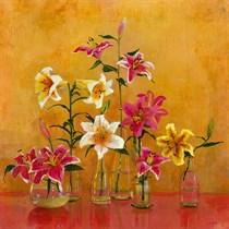 Lilies In Vases II
