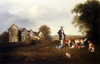 A Gentleman with his Dogs