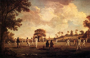 A Game Of Cricket, 1790