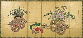 Japanese Screen I