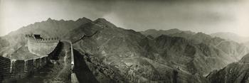 Great Wall of China, 1906 - Peking