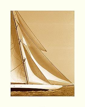Classic Yacht I - Sepia
