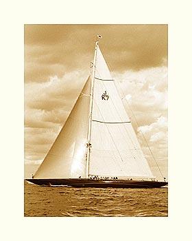 Classic Yacht II - Sepia