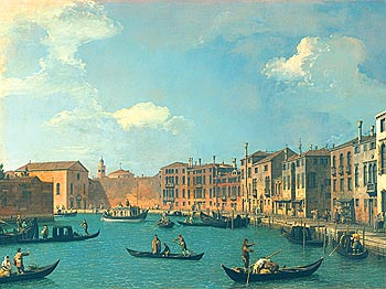 View Of The Canal Of Santa Chiara