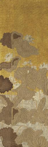Gilded Foliage by Oriental School