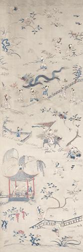 Embroidered Silk - Echo by Oriental School