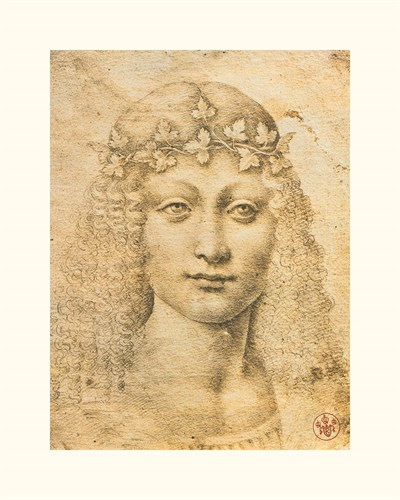 Giovane Bacco - Leonardo da Vinci