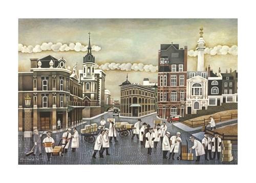 Memories Of Billingsgate by Alfred Daniels