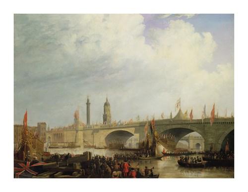 Opening Of London Bridge by Clarkson Stanfield
