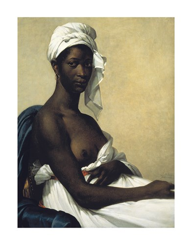 Portrait Of A Negress by Marie Guilhelmine Benoist