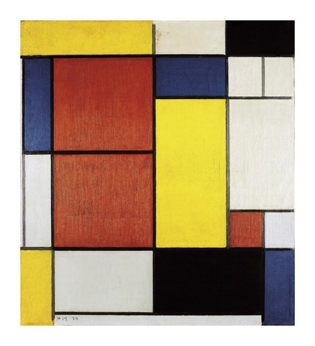 Composition II, 1920 by Piet Mondrian