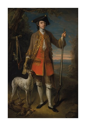 Sir Edward Hales, Baronet, of Hales Place, 1744 by Charles Mercier