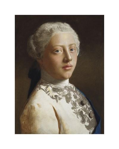 George, Prince of Wales, 1754 by Jean Etienne Liotard