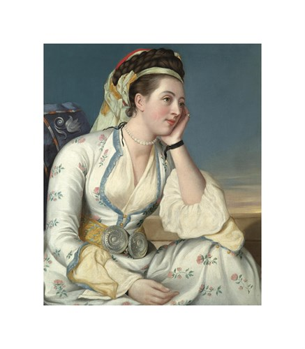 The Countess of Coventry, 1749 by Jean Etienne Liotard