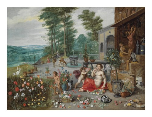 An Allegory of Smell by Pieter Brueghel the Younger