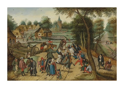 The Adoration of the Magi by Pieter Brueghel the Younger