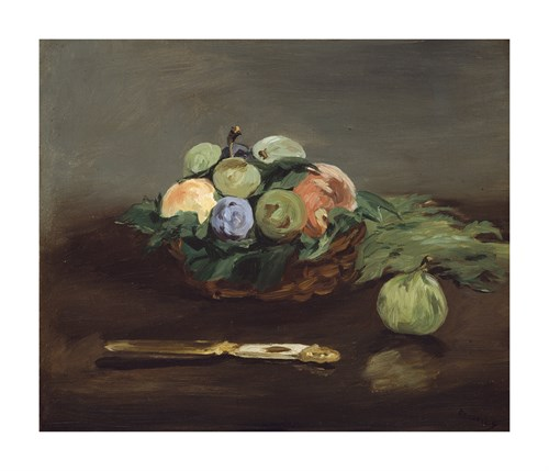 Basket of Fruit, c.1864 by Edouard Manet