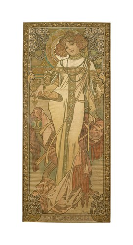 The Seasons: Autumn, 1900 by Alphonse Mucha