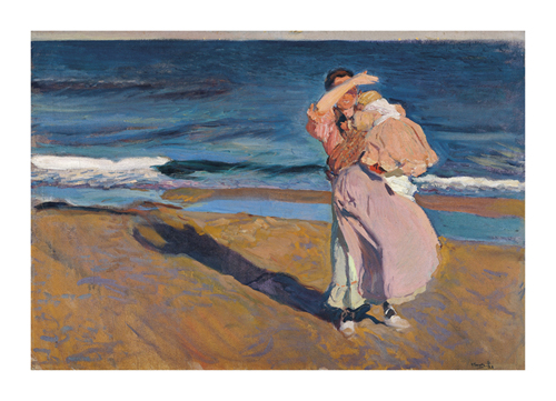 Fisherwoman with her Son by Joaquín Sorolla y Bastida