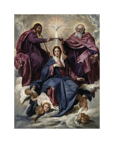 Coronation of the Virgin by Diego Velazquez