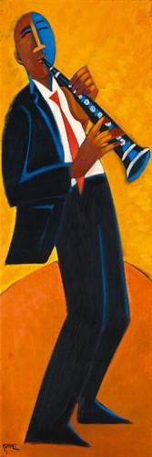 Bourbon Street Clarinet by Marsha Hammel