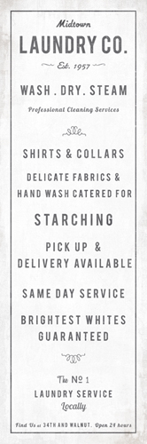 Midtown Laundry Co. by The Vintage Collection