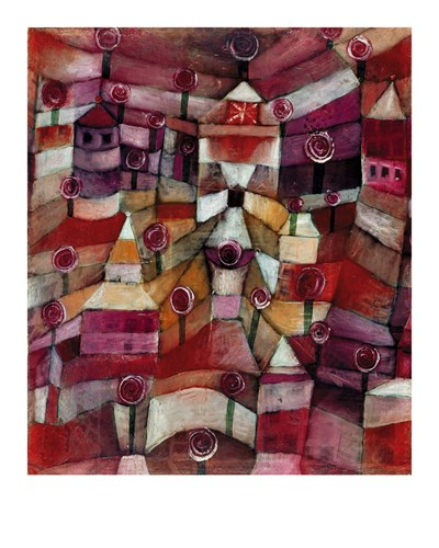 The Rose Garden by Paul Klee