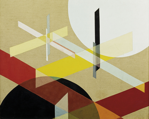 Komposition Z VIII, 1924 by Laszlo Moholy-Nagy