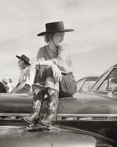 Cowgirl Cogitation by Kernud Hansen