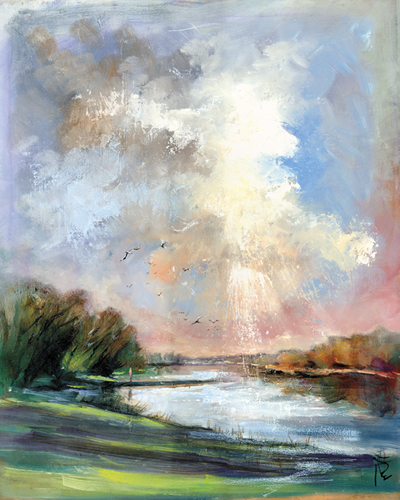 Early Morning Flight - Anne Farrall Doyle