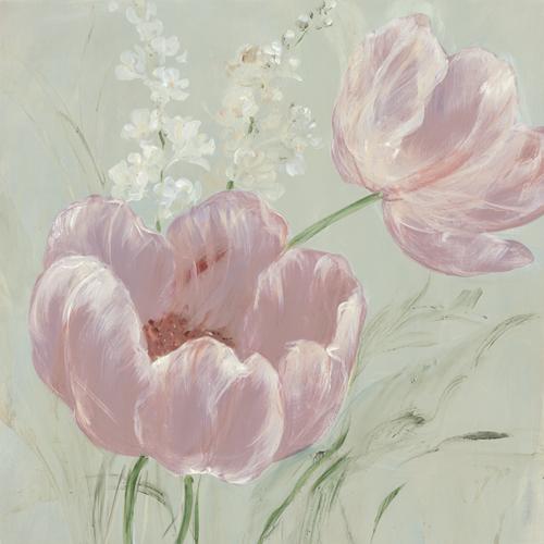 Fine Tulip II - Blush by Maria Mendez
