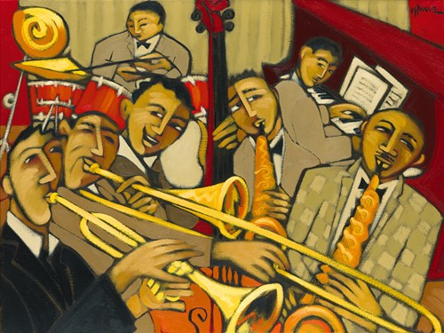 Cacophony in Jazz by Marsha Hammel
