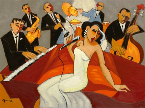In The Mood - for Jazz by Marsha Hammel