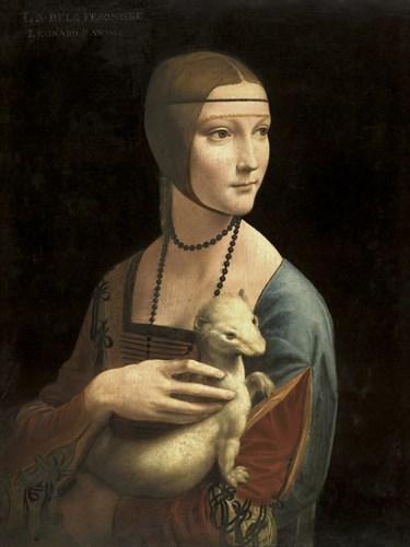 Lady with an Ermine - Leonardo da Vinci