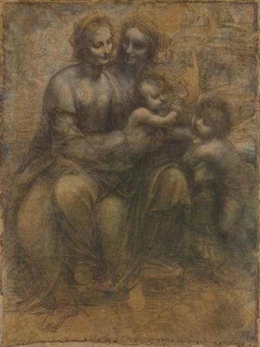 The Virgin and Child - Composition - Leonardo da Vinci
