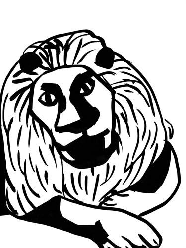 Lion by Sarah Corynen