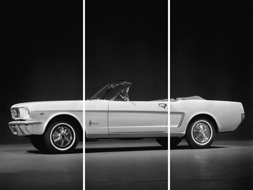Ford Mustang - Trio by Retro Classics
