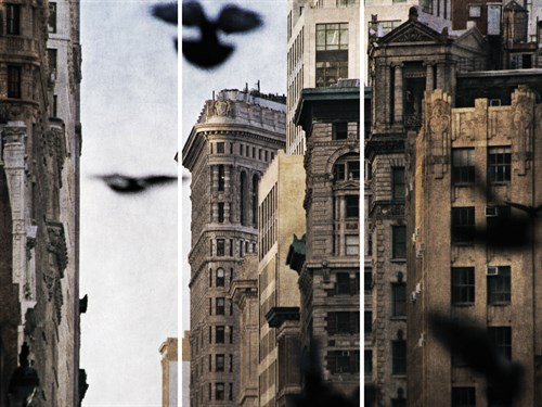 City in Flight - Trio by Pete Kelly