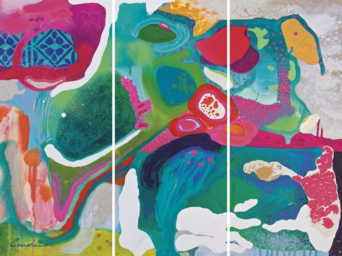 Iris Obscure - Trio by Carolina Alotus