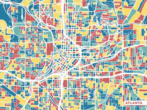 Ville - Atlanta by Olivier Gratton-Gagne