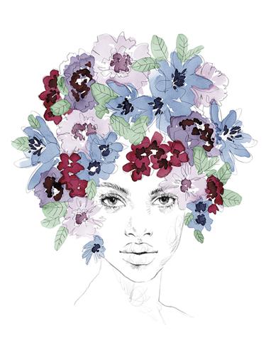 Bouquet Bonnet by Aurora Bell