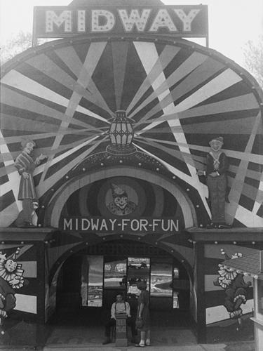 Midway Mirth by Kernud Hansen