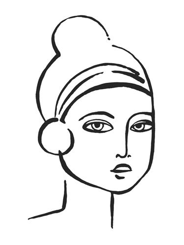 Chignon Portrayal by Aurora Bell